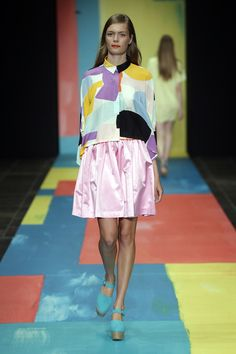 Print-tastic! Crushin on the bright painterly prints at Marimekko, Copenhagen Fashion Week S/S 14