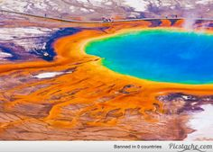 Grand Prismatic Spring, Yellowstone National Park, U.S.