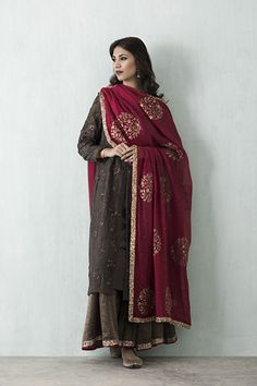 Ensemble 2 Indian Suits, Indian Attire, Indian Wear, Punjabi Suits, Pakistani Dresses, Indian Dresses, Anarkali, Churidar, Lehenga
