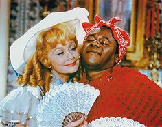 Lucy and Flip Wilson He didn't yell racist when asked to dress like Aunt Jamimah.  He knew how to have fun and play the part.