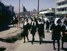 """visitafghanistan: """" Afghan High School Girls, Kabul, Afghanistan 1967 """""""