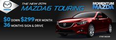 We've got new specials all the time! Check them out - Momentum Mazda