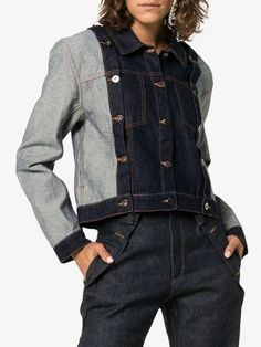 44 Flawless Outfit Ideas How To Wear Denim Jacket How To Wear Denim Jacket, Denim Jacket Fashion, Cropped Denim Jacket, Denim Jackets, Estilo Denim, Classy Work Outfits, Mode Jeans, Fall Fashion Outfits, Denim Outfits
