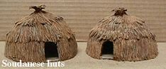 Darkest Africa: Native huts | Gisby's Gaming Blog Poster Board Size, African Hut, Wooden Candle Holders, Styrofoam Ball, Round House, King Kong, Wooden Doors, Congo, Xmas Decorations