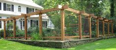 Deer Fence Ideas - if you're fighting a losing battle with the neighborhood deer, consider installing a fence. This post has some rustic ideas - via BHG backyard design diy ideas Deer Fence, Farm Fence, Deer Resistant Garden, Fence Construction, Garden Fencing, Potager Garden, Rustic Outdoor, Outdoor Ideas, Vegetable Garden Design