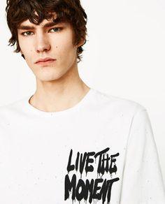 Image 4 of KNICKERBOCKER YARN PRINTED T-SHIRT from Zara
