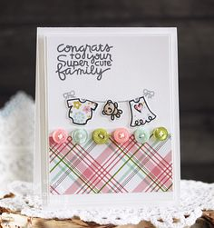 Card by PS DT Laurie Schmidlin using PS Pip Squeaks stamps/dies