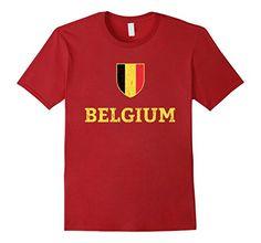 e1b6fe6ae Vintage Belgium Soccer Jersey Belgian Soccer T-Shir... https