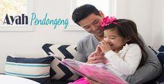 Tips Jadi Ayah Pendongeng :: Tips being a Storytller for Dad :: Klik link di atas untuk mengetahui tips-tipsnya