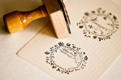Love this stamp so much! Your books would never go missing again with your name stamped right on it:)