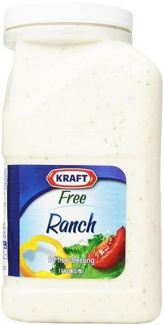 Kraft Brand Dressing Ranch Fat Free Liquid, 128 Ounce >>> Tried it! Love it! Click the image. : Amazon fresh
