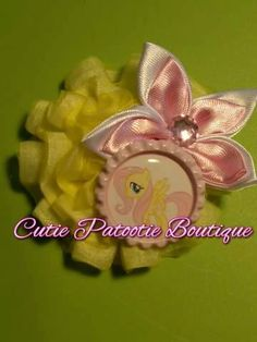 Yellow My Little Pony Chiffon Shabby by CuTiEpAtOoTieBsHoP on Etsy, $2.00