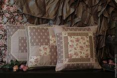 Купить Английский завтрак. Декоративные подушки (наволочки) - кремовый, подушки декоративные, интерьерные подушки