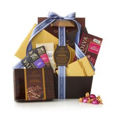 It's never too late to say thank you. #GODIVA ($135.00) Isn't this the PERFECT GIFT! #WISHLIST @Godiva Chocolatier