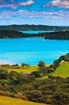 Te Whau Point, Waiheke Island, Hauraki Gulf, Auckland, New Zealand by geraldine