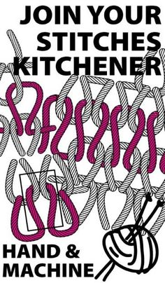 Would you like a seamless way to join you knitting seams? Here's our free guide to Kitchener