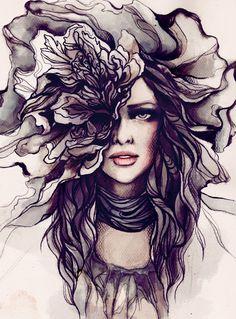 Soleil Ignacio - Beauty illustration