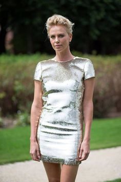 Charlize Theronin Dior #pfw #couture #hautecouture #dior Ph: @Diego Zuko