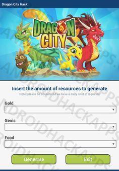 Dragon City Hack Apk Gold Gems And Food Dragon City Dragon City Cheats City Hacks