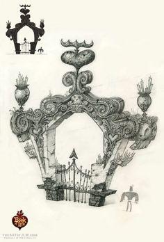 The Book of Life Concept Art by Jordan Lamarre-Wan:
