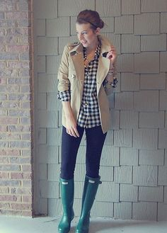 This looks like something I would wear on a rainy day in the fall.