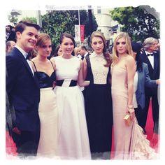 Le casting de THE BLING RING sur le tapis rouge #cannes2013 #cinema #glamour