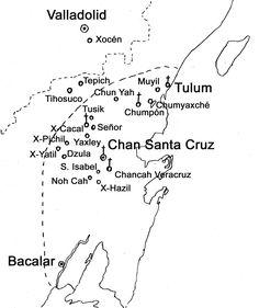Cecilio Chi, iniciador de la Guerra de Castas, tras la