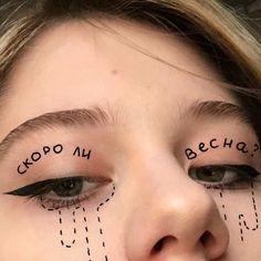 I love this idea🌹🌧 Credit: unsure let me know - - Tags: Eye Makeup Art, Eye Art, Cute Makeup, Pretty Makeup, Crazy Makeup, Makeup Inspo, Makeup Inspiration, Makeup Looks, Hair Makeup