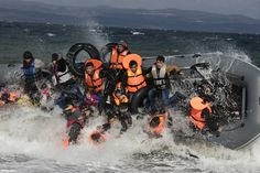 Reugee Crisis: Lesbos, Greece : : Paula Bronstein, Photojournalist