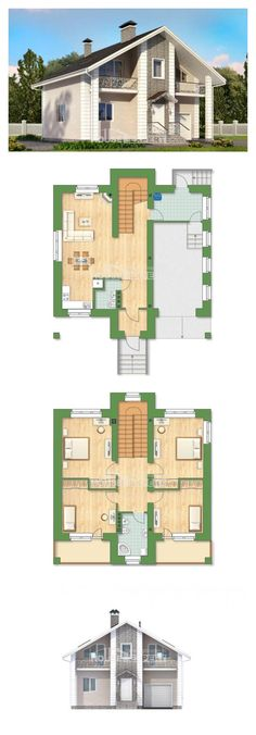 Ev villa projesi 150-002-R | House Expert