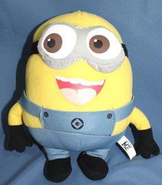 """Despicable ME Movie Character Plush Toy 9"""" Minion Dave 3D Doll Amusement Park"""