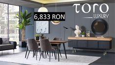 Life Dining este un set modern și plin de eleganta ce face parte din colectia #TORO Luxury. Rezervari si comenzi: 0746 661 384    Pret de stoc incluzand: 1 masa + 6 scaune + 1 bufet + 1 oglinda -15,514 RON -1 masa la pretul de 2,793 RON  - 6 scaune - 4,040 RON  - 1 bufet - 3,844 RON  - 1 oglinda - 773 RON Luxury