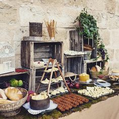 Mesa de quesos. Cheese Corner. Bodas. Weddings. Castillo del Buen Amor