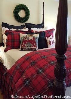 christmas.quenalbertini: Christmas bedroom | BNOTP