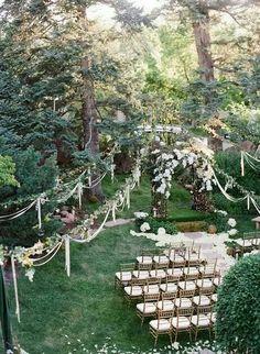 Celebrare il matrimonio in un bosco