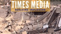 The old headquarters of Times Media in Rosebank were demolished on the morning of September 17 The group, which is now known as Tiso Blackstar, has new. Times Media, September 17, Old Things, Building, Buildings, Construction