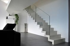 Faltwerktreppen - New Ideas Stair Posts, Inside Home, Interior Stairs, Pent House, Sweet Home, House Design, Living Room, Architecture, Home Decor