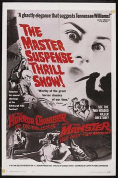 The Horror Chamber of Dr. Faustus / The Manster