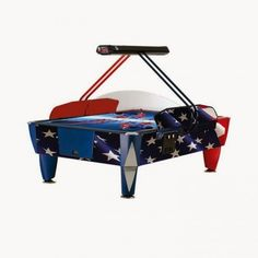 Air-hockey Double patriot - 4 joueurs - 5 590,00 €  #Jeux #Airhockey