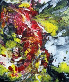 "'Blaze' by Eric Siebenthal | $250 | 24""H x 20""W x 0.75""D | Original Art | http://vangoart.co/buy/art/6448 @Vango"
