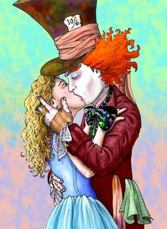 *ALICE & THE MAD HATTER ~ Alice in Wonderland