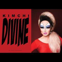 Kim Chi Divine by Adam Ouahmane I Love My Friends, Rupaul Drag, Samurai Art, Lip Sync, Reality Tv, Kimchi, Body Painting, Makeup Looks, Halloween Face Makeup