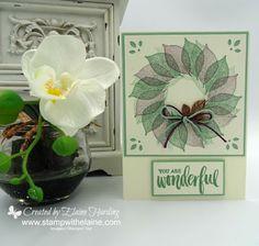 Elaine's Creative Musings: Stamparatus Wreath Stamping Tutorial
