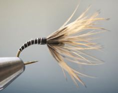 A traditional pattern from the Hida Takayama area of Japan. These were used at Miyagawa river system of Gifu prefecture as noted on the My Best Streams webpage. In addition to the fun of using a very traditional tenkara fly pattern, you simply cannot go wrong fishing an all black fly. Size 12, price is per 3 flies.