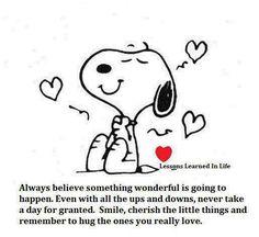 Snoopy Believes