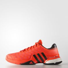 adidas Barricade 2015 Boost Shoes - Red | adidas US