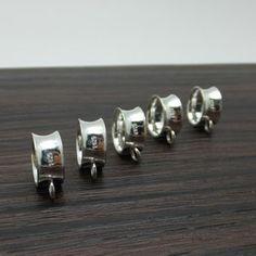 925 Sterling Silver Pendant Holder Charm DIY Findings LFJ41