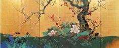 Suzuki Kiitsu. Four Seasons screen. Edo period. Japanese. Nineteenth century