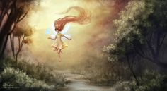 Child of Light (fanart) by aliphelps on deviantART