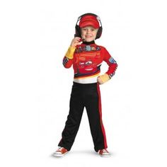 costume kit cars 2 headset Case of 5  sc 1 st  Pinterest & Toddler Lightning McQueen 3D Car Ride-A-Long Costume - Cars ...